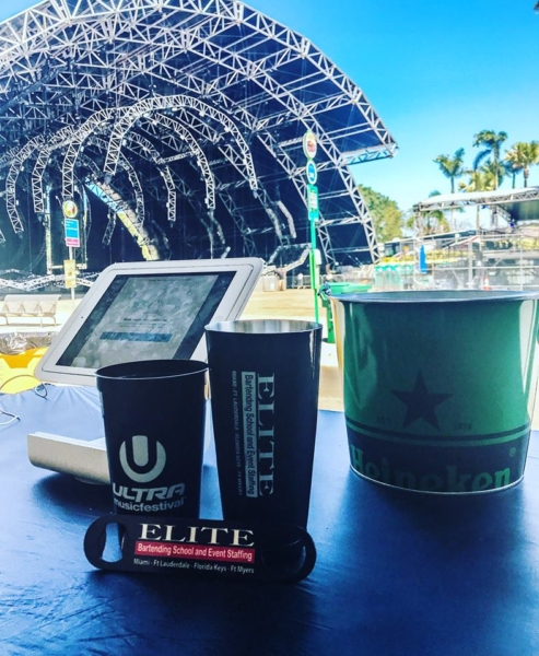 Elite Bartending School Fort Lauderdale Ultra Music Festival
